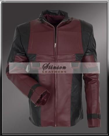 a98016b17f0 Deadpool Ryan Reynolds Wade Wilson Leather Jack...