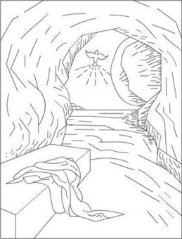 coloring pages for catholic faith | 'Holy Week' in Resources for Catholic Faith Education ...