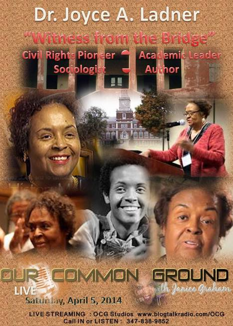 OUR COMMON GROUND Voice Dr. Joyce Ladner   Sociologist, Author, History Maker   OUR COMMON GROUND Guest Profiles   Scoop.it