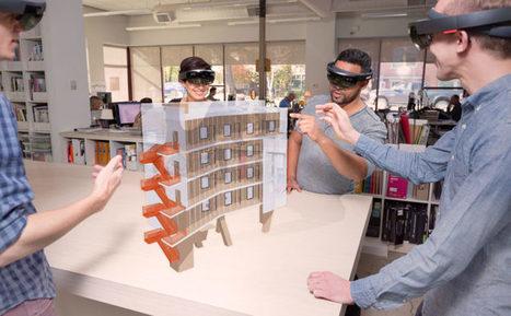 Avis aux architectes, SketchUp Viewer ARRIVE sur le Microsoft HoloLens | Zap...d'arts! | Scoop.it