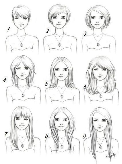 Hair Drawing Tutorial In Drawing References And Resources