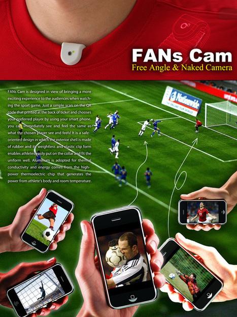 [Concept] FANs Cam : mini caméra pour vivre un match de foot en first-person | Actinnovation.com | Innovation & Sérendipité | Scoop.it