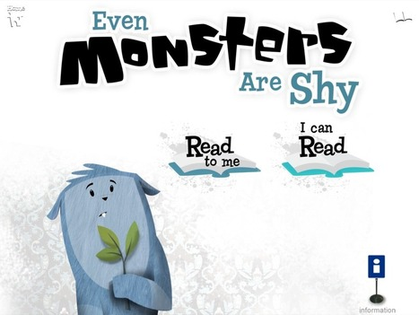 Even Monsters Are Shy | Apps for Children with Special Needs | Scoop.it
