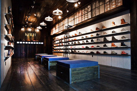 Kith shoe store by Cleanroom, Brooklyn | Retail Design Review | Scoop.it