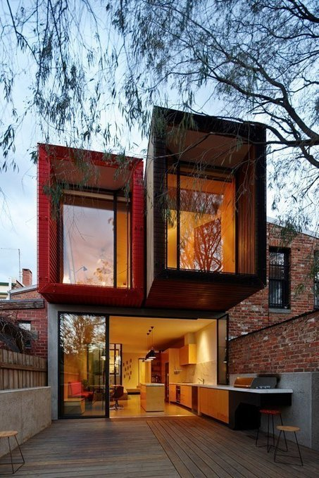 Incroyable Extension En 3 Volumes Pour Cette Maison Urbaine De Melbourne, Australie
