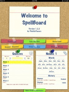 I Education Apps Review - I Education Apps Review - Review of SpellBoard by KathyBurdick | Publishing Digital Book Apps for Kids | Scoop.it