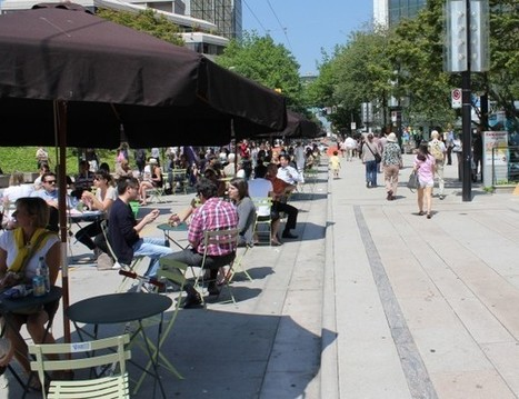 Vancouver Car Spaces Transforming into People Places | Urban planning and sustainable mobility | Scoop.it