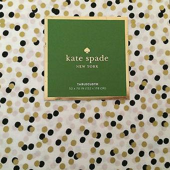 Marko   X  Black - Kate spade table linens