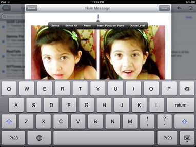 3 Ways to Send Multiple Pictures with an iPhone and iPad on iOS 6 | Groovin' On Apps | Tech in Education | Scoop.it