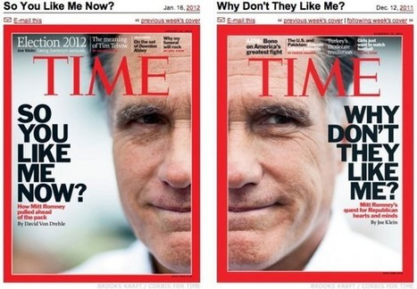 Your Turn: The Romney Redux TIME Cover and the Flogged Likeability Factor   Photography Now   Scoop.it