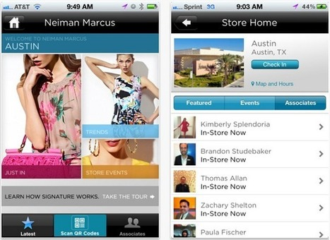 10 inspiring uses of mobile in retail | Mobile Customer Experience Management | Scoop.it