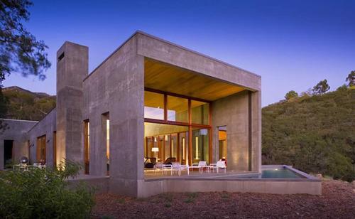 imposante maison b ton contemporaine toro canyon residence. Black Bedroom Furniture Sets. Home Design Ideas