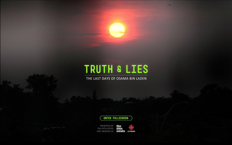 Excellent Interactive Doc. CBC News - Interactive: Truth and Lies: The last days of Osama bin Laden | Tracking Transmedia | Scoop.it