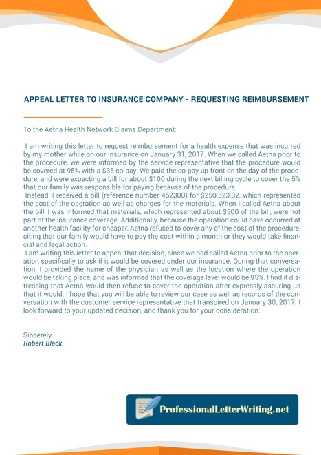Sample Letter Of Appeal To Health Insurance Company from img.scoop.it