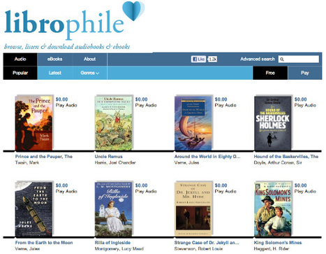 Websites To Download Free Audio Books – Best Of | Learning Alongside the Kids | Scoop.it