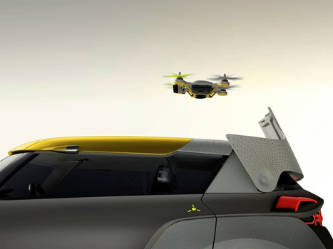 Renault Kwid concept car comes with its own traffic scouting quadcopter - Pocket-lint | Technology and Gadgets | Scoop.it
