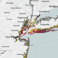 Storm-Surge Flood Zones | Visual.ly | green infographics | Scoop.it