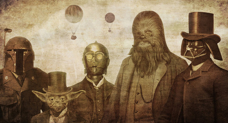 """Victorian Star Wars 
