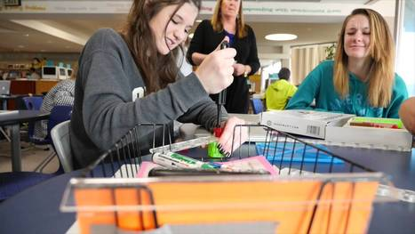Transforming Libraries: Castle Rock Middle School - YouTube | Learning Commons & Maker Spaces | Scoop.it