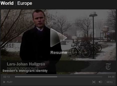 NYTimes video: Sweden's Immigrant Identity | AP Human Geography Education | Scoop.it