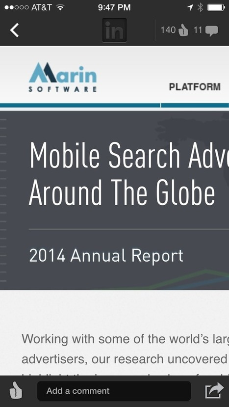 ALERT: Search Marketers: The Time To Focus On #Mobile User Experience Is Now | Effective Inbound marketing practices | Scoop.it