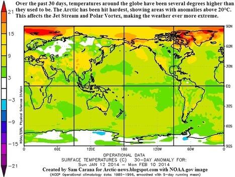 Arctic News: Extreme weather strikes around the globe | Slash's Science & Technology Scoop | Scoop.it