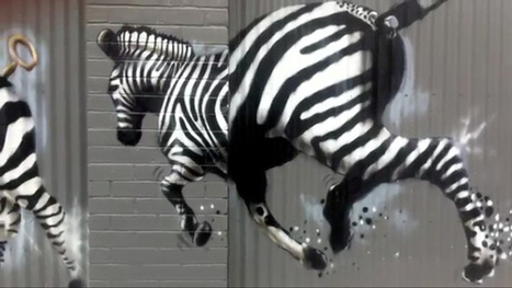 See Melbourne street art in a whole new light in city safari video - Herald Sun | Street art news | Scoop.it