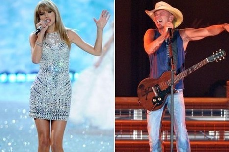 Taylor Swift, Kenny Chesney Had Two of Top Tours of 2013 | Country Music Today | Scoop.it