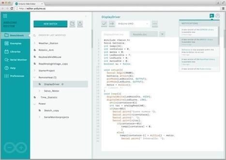 Arduino web editor' in TECNOLOGÍA_aal66   Scoop it