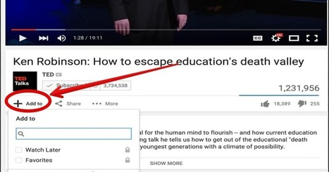 Some Interesting YouTube Tips for Teachers via @medkh9 | Moodle and Web 2.0 | Scoop.it