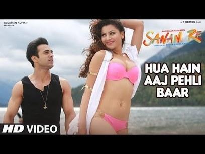 Hua Hai Aaj Pehli Baar Lyrics - Sanam Re | Arma