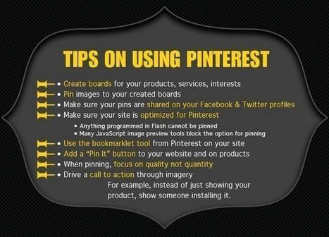 3 Small Business Pinterest Marketing Tips | Pinterest | Scoop.it