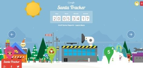 Google Launches Its 2013 Santa Tracker | Comic Book Trends | Scoop.it