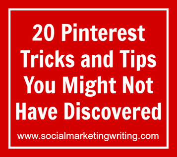 20 Pinterest Tricks And Tips You Might Not Have Discovered - Business 2 Community | Everything Pinterest | Scoop.it