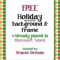 Free Holiday Color Polka Dots Clip Art Frame in Word - Tracee Orman | Clip Art for Commercial Use | Scoop.it
