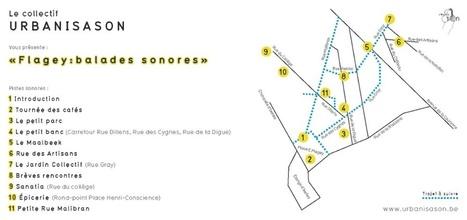 Balades sonores  - Flagey - Urbanison | espaces publics urbains | Scoop.it