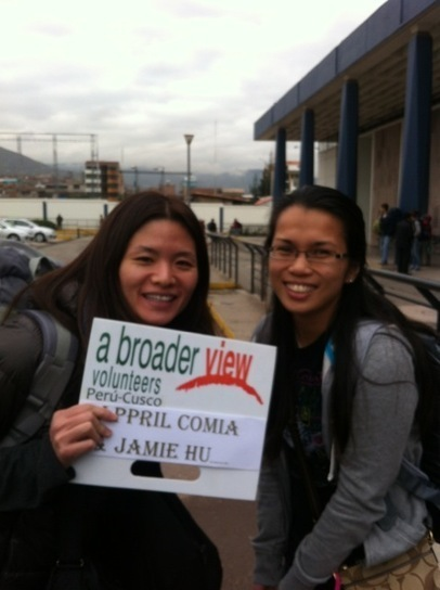 """April Volunteer in Cusco Peru, Children's Care Program with Abroaderview.org 