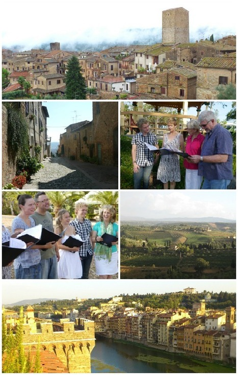 RelaxSing: Aussies in tuscany to... sing | Italia Mia | Scoop.it