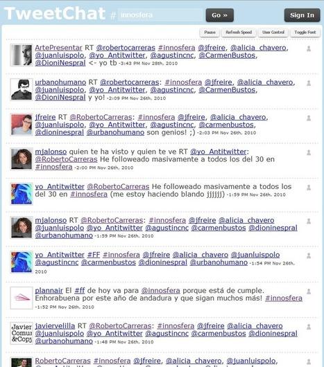 El arte de presentar » 8 herramientas para mostrar Twitter en la gran pantalla | Redes sociales en Educación | Scoop.it
