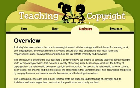 Teaching Copyright- A MUST READ! | E-Learning and Online Teaching | Scoop.it