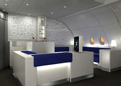 Mile-High Cocktail Lounges | Airline Industry | Scoop.it