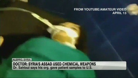 American doctor gives 'proof of chemical weapon use' to U.S. | Coveting Freedom | Scoop.it