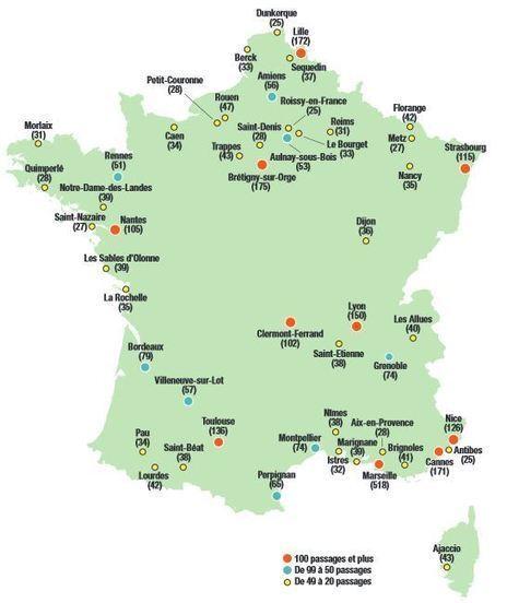 VISION TROUBLE – La carte du monde vue par les JT français | Histoire geo Terminale (programmes 2012) | Scoop.it