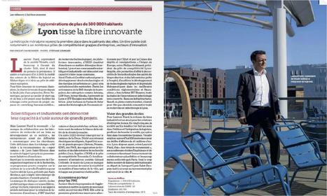 Lyon la ville où il fait bon innover, le cluster edit où il fait bon adhérer !!!!! | zebrain | Scoop.it