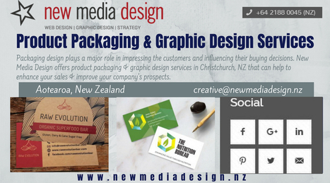 Product Design Packaging Christchurch Nz In Newmediadesign Scoop It