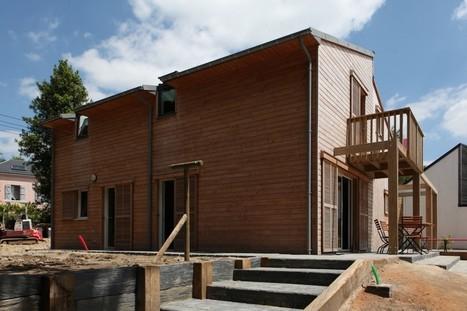 A BIOCLIMATIC HOUSE IN AURAY, BRITTANY, by a.typique Patrice BIDEAU architecte DPLG - archilist.eu | architecture..., Maisons bois & bioclimatiques | Scoop.it