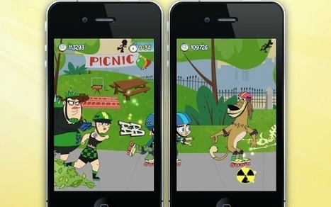 Multi-screen iPhone game expands your playing space options. | Smart Media | Scoop.it
