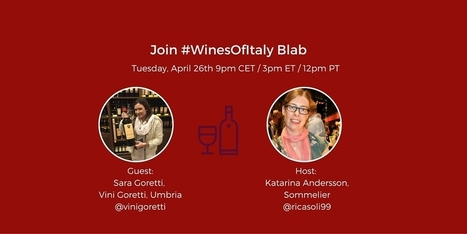 Talking Wine in Umbria with Sara Goretti from Vini Goretti - Grapevine Adventures | Wine, history and culture... | Scoop.it