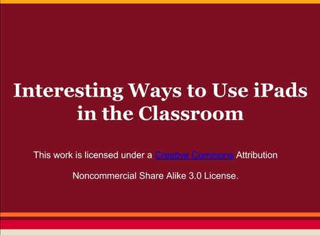 iPad uses in the classroom - Google Drive | #mlearning | Aprendiendo a Distancia | Scoop.it
