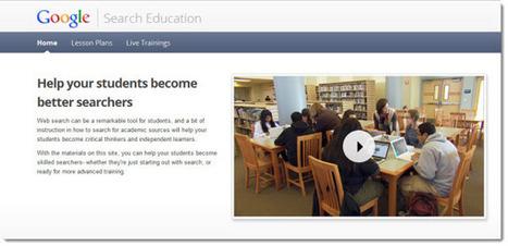 Google Search Education ayuda a los estudiantes a ser eficaces en sus búsquedas web | didac-TIC-a | Scoop.it